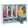 TODDLER COAT LOCKER w/STEP