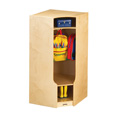 Jonti-Craft� Corner Coat Locker with Step