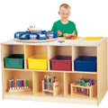 Jonti-Craft� Mobile Storage Island  - Twin