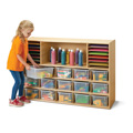 Young Time® Sectional Cubbie-Tray Storage