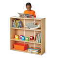 Young Time® Short Adjustable Shelf Bookcase