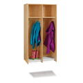2 Section Hanging Locker