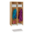 Jonti-Craft� 2 Section Hanging Locker - with Tubs