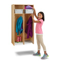 2 Section Hanging Locker - with Tubs