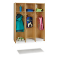 3 Section Hanging Locker