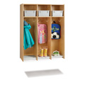 Jonti-Craft� 3 Section Hanging Locker - with Tubs