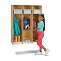3 Section Hanging Locker - with Tubs