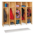 Jonti-Craft� 5 Section Hanging Locker