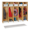 Jonti-Craft� 5 Section Hanging Locker - with Tubs