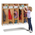 5 Section Hanging Locker - with Tubs